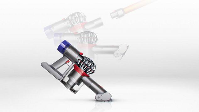 Použití ručního vysavače Dyson V8